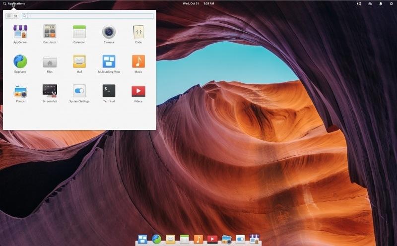 elementaryos_0 5 Melhores distribuições de Linux para novos usuários