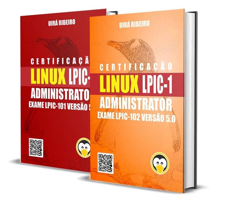 dois_livros_juntos1 Book Linux Certification for LPIC-1